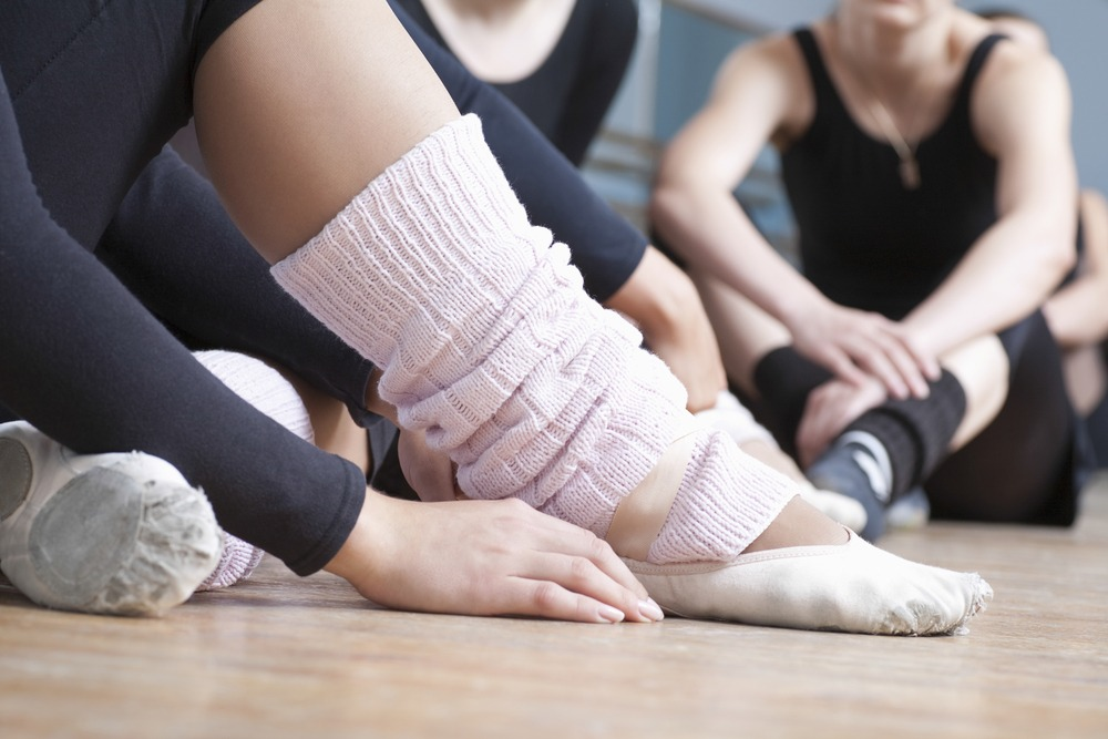 Crossfit versus Barre: Embarrassing socks