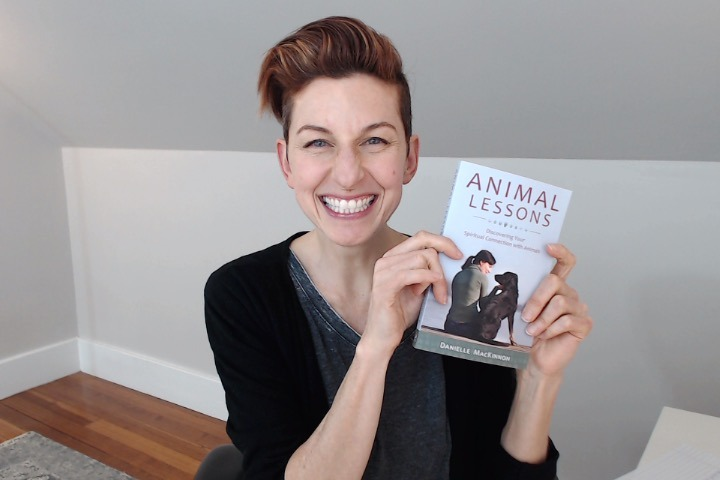 Animal Lessons book arrived in the mail!